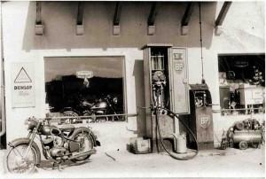 Alte BP-Pumpe