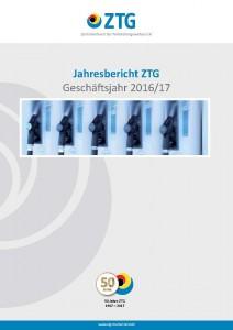 ZTG Jahresbericht 2017 Titelblatt